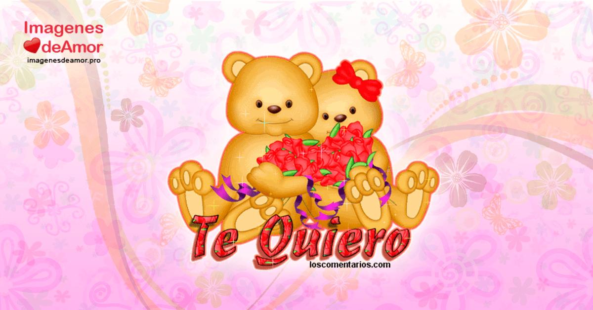 Imagenes De Amor Con Movimiento Corazones Rosas Flores Ositos Y