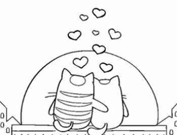 dibujos de amor a lapiz faciles animales