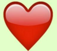 dibujos de amor corazon rojo