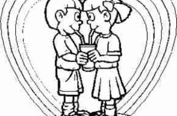 dibujos de amor para colorear 5