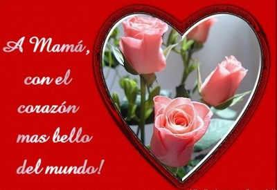 Bonita Imagen De Un Corazón Para El Día De La Madre